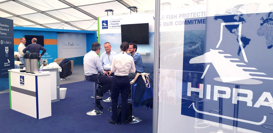 HIPRA participated in Aquaculture UK 2018, the most important aquaculture exhibition in the British Isles.